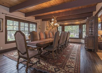 Formal dining room off the kitchen