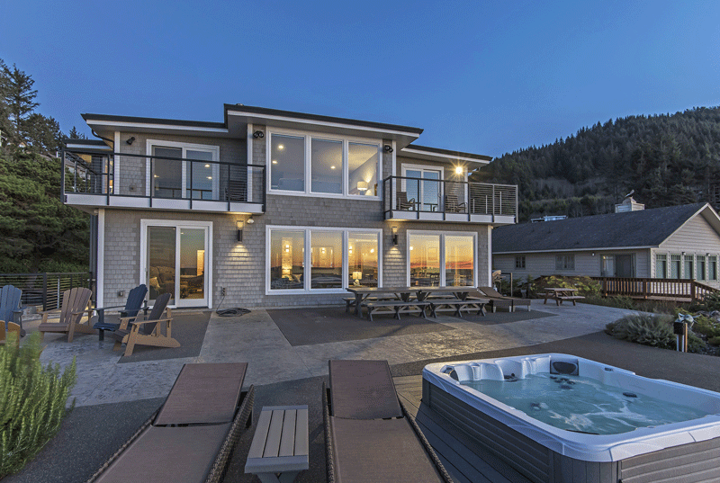 high style vacation homes