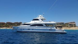 92 ft luxury charter yacht in Cabo
