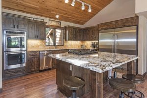 Completely remodeled home with new appliances in kitchen