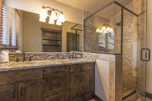 Large attached bath to bedroom #5