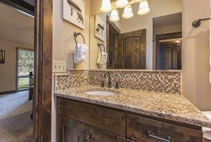 Attached Jack/Jill bathroom to bedrooms #6 and #7